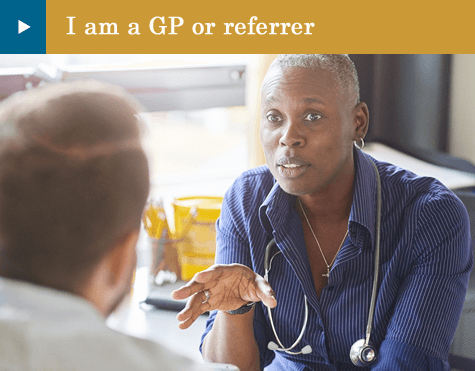 I am a GP or referrer